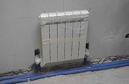 Установка регулирующего вентиля на радиаторе отопления
